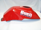 Fuel Tank Cover, RED-NEW