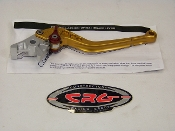 AN-521- Gold - CRG  Roll-a-Click Brake Lever
