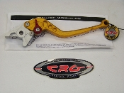 AN-531- Gold - CRG  Roll-a-Click Brake Lever