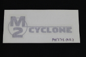 DECAL, WINDSCREEN, SILVER, M2 - M0774.01A3