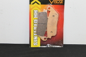 Rear Brake Pad Kit, Volar, XB,  BLAST-SINTERED