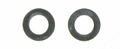 B0814.1BL : FLAT WASHER, BLACK M8X14