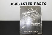 99489-95YS -USED 1995 S2 SVC MANUAL SUPPLEMENT (CALIF. MODELS)