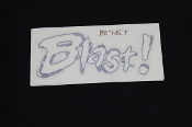 DECAL, WINDSCREEN BLAST- M0745.T