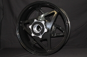 G1300.1B7YT  - REAR WHEEL, 17 X 6, ALUMINUM, DESIGNER BLACK